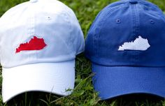 Kentucky Hats- obviously I have no use for that red one :)