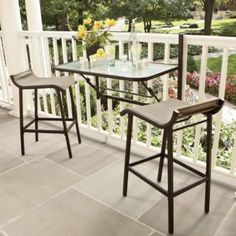 Great for small balconies
