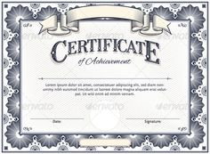 Certificate Template by AiVectors Diploma or Certificate Vector Template with Custom TypographyFiles in Pack: Vector Eps 10 – Fully Scalable and Editable. Layered a