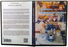 Boitier DVD du livre Pigments et Recettes Les secrets du métier de l'artiste peintre du XXIe en version premium.