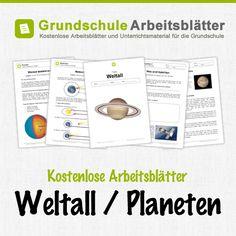 FREIARBEIT!!! Planeten | Space | Pinterest | School, Kindergarten ...