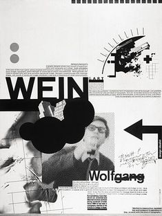 FFFFOUND! | Wolfgang Weingart poster