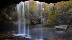 Sipsey Wilderness Waterfall,  Bankhead National Forest, Alabama