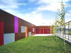 rosales del canal kindergarden by magén arquitectos. SPAIN.