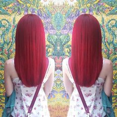 Bright, Rich Incredible Elumen red hair.
