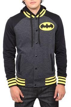 Amazon.com: DC Comics Batman Varsity Hoodie: Clothing