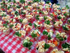 Carrie Dahlin: Catering for a Labor Day Campout Menu Barbecue, Cookout Menu, Wedding Snacks, Maya, Party Food Platters, Picnic Foods, Feeding A Crowd, Appetizer Recipes, East Appetizers