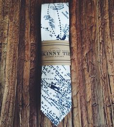 Explorer Skinny Tie | Dapper up your outfit with the assistance of this skillfully h... | Neckties