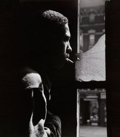 """One of favorite Gordon Parks photos... """"Red Jackson in the Harlem Gang Story"""" 1948"""