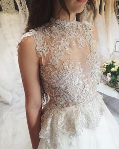 Our gorgeous Mia gown RUTH MILLIAM BRIDAL COUTURE