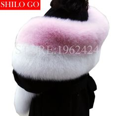 2017 winter new fashion women high quality luxury whole skin light pink white natural fox fur pink and lovely cute shawl collar