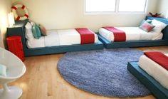 DIY link PLATFORM BEDS! kids would love platform beds!