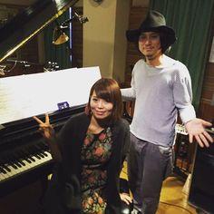 「本日は渋谷QUATTROでNabowa。 大阪ではjizue片木とSchroeder-Headzこと渡辺シュンスケさんが。」