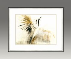 Black Crane. Gold Series (Option 1)