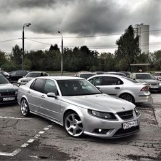 """""""SAAB 95X! Stunning 9-5 / 9-3 combo #lol #coolconcept #cleanlook…"""