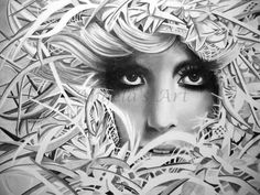 LADY GAGA 2 by *AngelaHillPortraits on deviantART