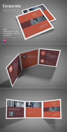 Short, Sharp, like the layout and different page sizing.   Corporate Brochure 1