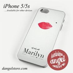 Movie Poster Marilyn Phone case for iPhone 4/4s/5/5c/5s/6/6s/6 plus