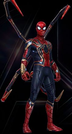 Spiderman in Avengers Infinity War Marvel Avengers, Marvel Comics, Marvel Heroes, Spiderman Marvel, Spiderman Spider, Amazing Spiderman, Spider Man Comic, Iron Spider Suit, Iron Spider Costume
