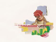 Scraps from the Pants Collage: #3 by Matthew Partridge, via Flickr