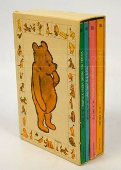 Vintage Winnie the Pooh Books for the baby. Already have these