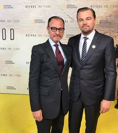 Thrilled to screen #BeforetheFlood today at the @UnitedNations. Join the movement by texting FLOOD to 52886 and make sure to tune into @NatGeoChannel on October 30th.