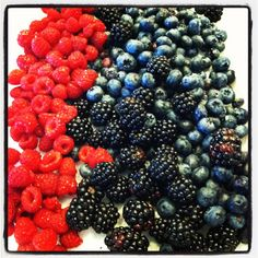 Berries - look at all those phytochemicals just sitting there