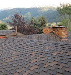 Economical to produce, relatively easy to install, and widely available, fiberglass asphalt shingles are todays most popular roofing material. Asphalt Roof Shingles, Wood Shingles, Roofing Shingles, Roof Shingle Colors, Roofing Options, Roofing Materials, Roofing Felt, Roof Styles, Roofing Contractors