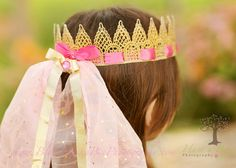Sleeping Beauty Crown for your little dress up Princess