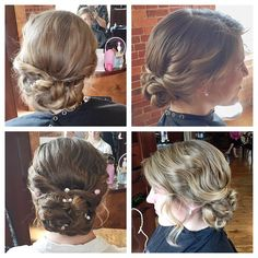 Weddings, proms, and formals have been filling Shannon's chair and we're loving the #updos! Gorgeous job @hairpro7!