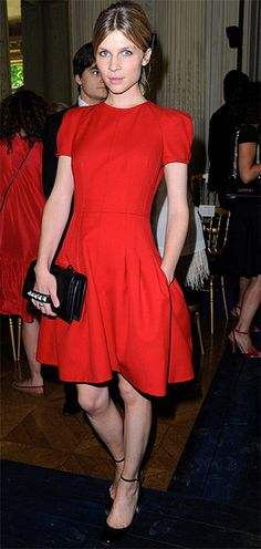 Clemence Poesy in Valentino!