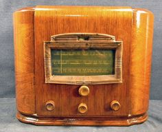 Stewart Warner R 1811A Tabletop Cathedral Tombstone Radio Art Deco Repaired | eBay