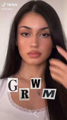Casual Makeup, Edgy Makeup, Makeup Eye Looks, Creative Makeup Looks, Natural Makeup Looks, Cute Makeup, Simple Makeup, Skin Makeup, Makeup Videos