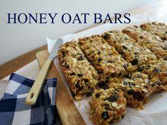 Honey Oat Bars