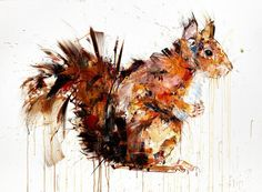 Squirrel+By+Dave+White