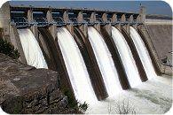 Waterenergie en waterkracht als duurzame energiebron.