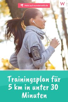 Trainingsplan für in unter 30 Minuten With this training plan you can do the 5 km after four weeks in less than 30 minutes. # The post Training plan for 5 km run in under 30 minutes appeared first on Katherine Levine. Pilates Workout Routine, Fitness Workouts, Insanity Workout, Best Cardio Workout, Yoga Fitness, At Home Workouts, Easy Fitness, Workout Challange, Pilates Abs