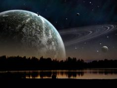 Night Sky Planets - 640*480 Wallpapers - Android Wallpapers, HTC T-Mobile G2, G1 Wallpapers free download