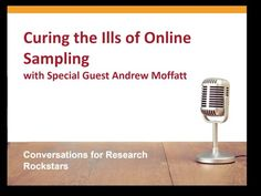 Curing the Ills of Online Sampling for Survey Research - YouTube