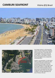 WEEK 2: As Vitória is an island in the Atlantic coast of Brasil, I choose the main boardwalk of the city, the Camburi Seafront, with 5km long.
