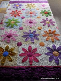 Good for applique quilts.