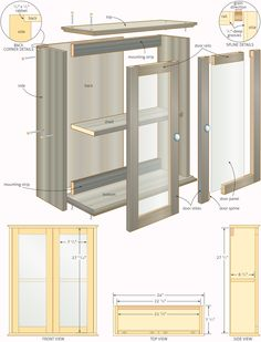 free woodworking plans bathroom cabinets | Quick Woodworking Projects