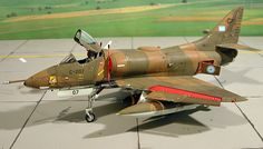 A-4P Skyhawk by Piero Di Santis (Hasegawa 1/48)