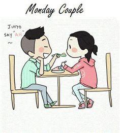 Monday Couple ♥