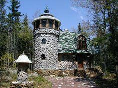 Mushroom Castle, Maine