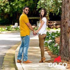 Qué tal una #PoloGoCo y uno jeans para disfrutar tu día? Vívelo al estilo #GoCo Somos #LaMarcaDelGorila. Compra en www.gococlothing.com. Envíos a todo Colombia