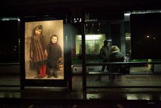 A World Where Outdoor Advertising is Replaced by Classical Paintings - art triumphing over consumerism in an urban utopia