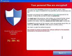 CryptoLocker zaszyfrował nasze dane