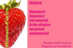 La fragola e le sue sostanze antiossidanti
