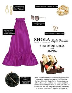 Every woman needs a statement dress in her closet that she can slip into for a date night or a last minute formal event. Don't know how to classify one? It leaves a lasting impression and is the bold focal point for your outfit.  Stand out from the party crowd by ditching the sequins and opting for a statement dress in a unique hue and cut instead.